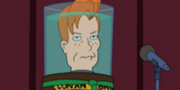 Conan O'Brien's head