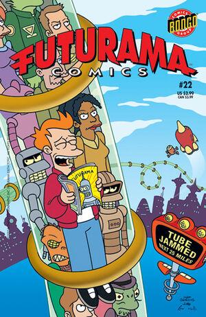 Futurama-22-Cover