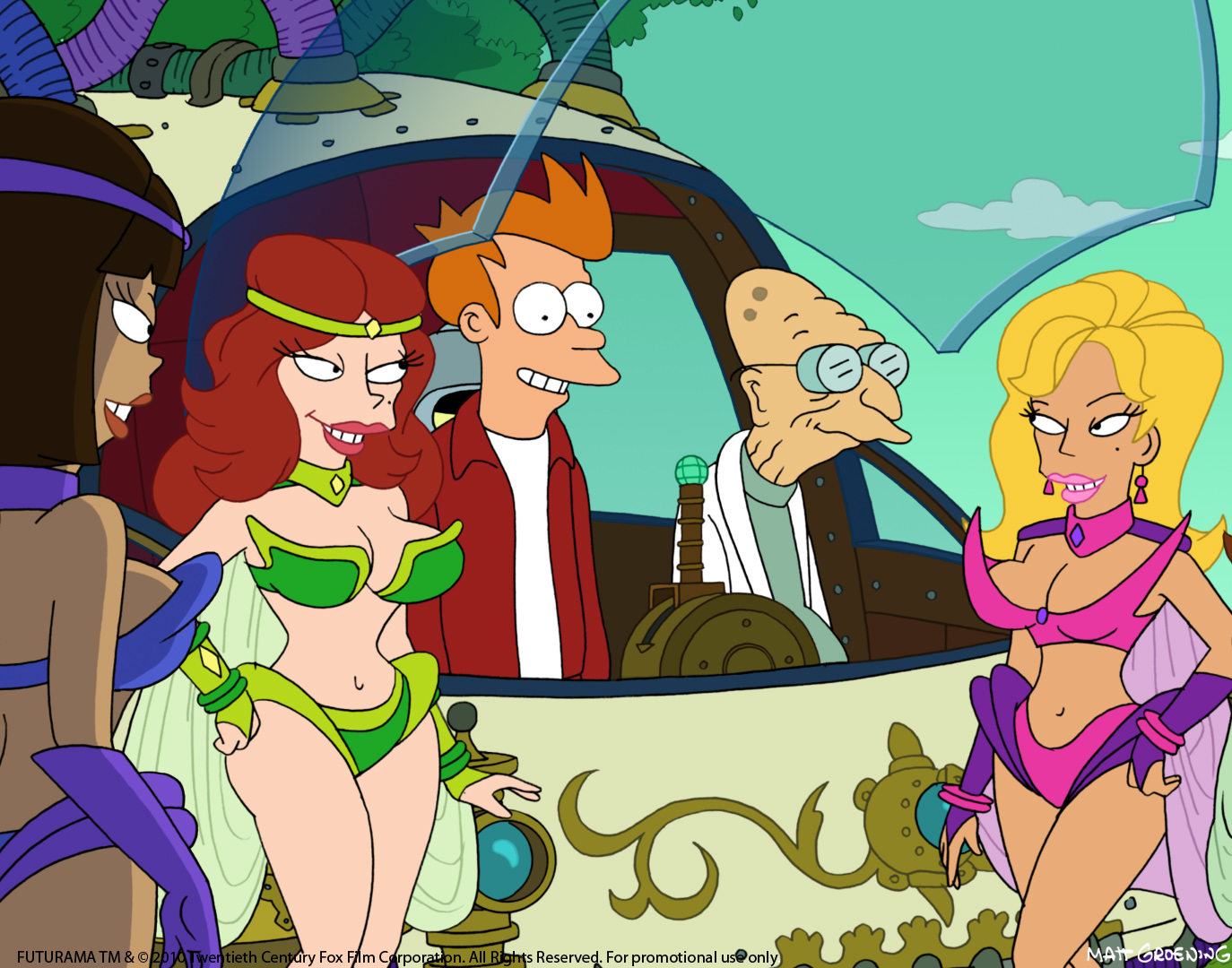 Futurama Time Travel Episode