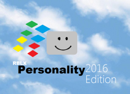 Personality 2016 beta one update