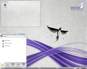 Gentoo-screenshot