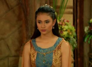 Muyak in her dress