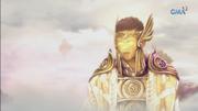 Emre transforms into shining face