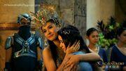 Danaya hugs Lira