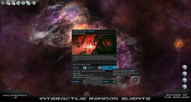 Interactive Random Events