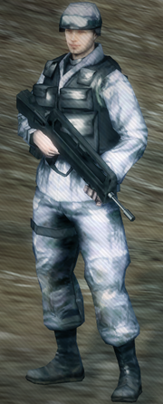 European Soldier