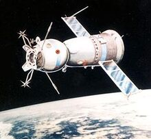 ASTP Soyuz Spacecraft