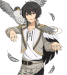 (Falcon) Ritsu Sakuma Full Render Bloomed
