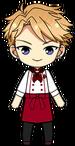 Arashi Narukami Cooking Leader Uniform chibi