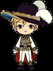Tomoya Mashiro Prince chibi