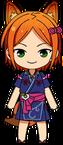 Hinata Aoi Fox chibi