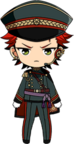 Kuro Kiryu Night Watch chibi