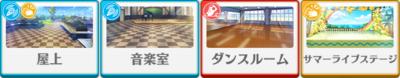 Kiseki☆The Preliminary Match of the Summer Live Hiyori Tomoe locations