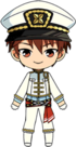 Chiaki Morisawa PiratesFes uniform chibi