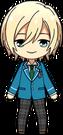 Eichi Tenshouin student uniform chibi