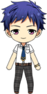 Yuzuru Fushimi Summer Uniform chibi
