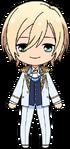 Eichi Tenshouin fine uniform chibi