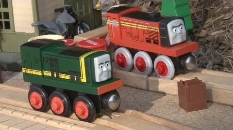 Enterprising Engines Paxton and Norman (Thomas & Friends)
