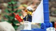 Sailor John and his telescope