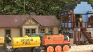 Billy passes Tidmouth Yards