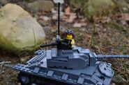 Chaffee and gun turret