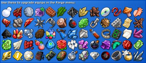 EBF4 crafting items