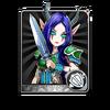Demon Warrior Card