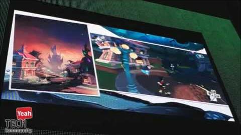 Epic Mickey Early Beta Footage