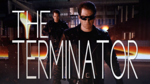 The Terminator Title Card