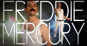 Freddie Mercury Title Card