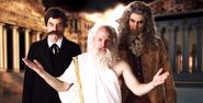 The Western Philosophers In Battle