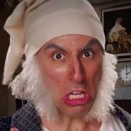 Ebenezer Scrooge In Battle