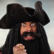 Blackbeard In Battle