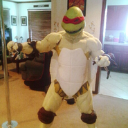 Teenage Mutant Ninja Turtles Costume Early Stage
