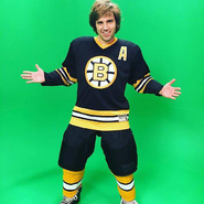 Bobby Orr Behind the Scenes