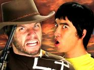 Bruce Lee vs Clint Eastwood Thumbnail