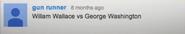 George Washington vs William Wallace Suggestion