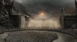 The Black Gate of Mordor Based On