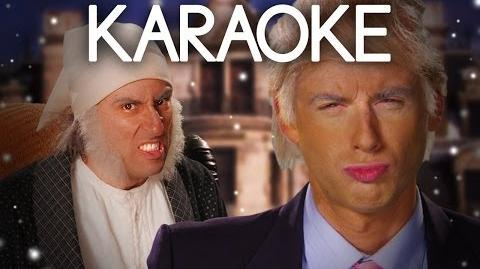 KARAOKE ♫ Donald Trump vs Ebenezer Scrooge. Epic Rap Battles of History