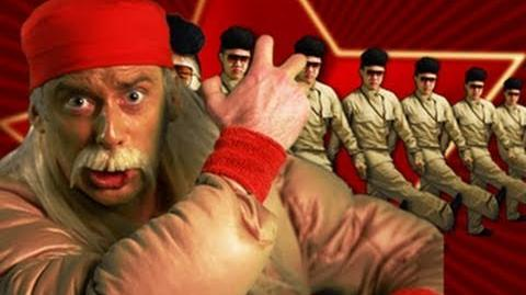 Hulk Hogan and Macho Man VS Kim Jong-il - Epic Rap Battles of History 5-1