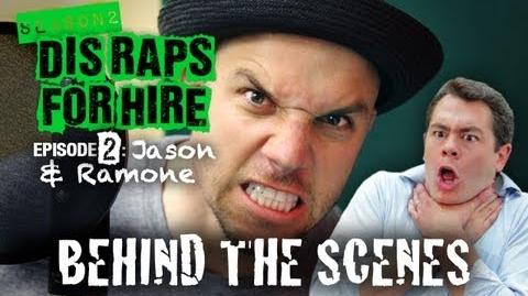 Behind the Scenes - Dis Raps For Hire Ep