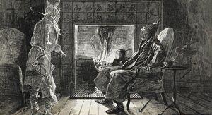 Ebenezer Scrooge's Mansion Based On