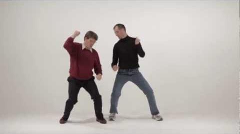 Bill Gates vs Steve Jobs. Epic Dance Battles of History.