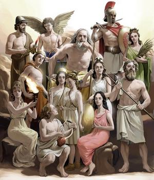 Greek Gods Based On