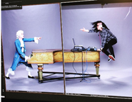Mozart vs Skrillex Promotional Photograph