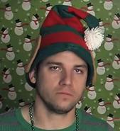 """Christmas Elf In """"Santa Is A Gangsta"""""""