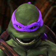Donatello (Turtle) In Battle
