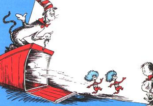 Dr. Seuss' Storybook Cage Based On