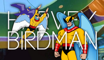 Harvey Birdman title card