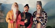 The Eastern Philosophers In Battle